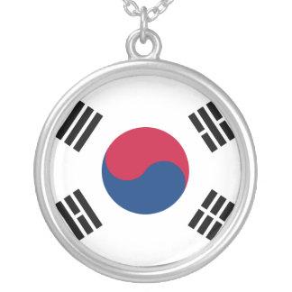 南朝鮮 シルバープレートネックレス