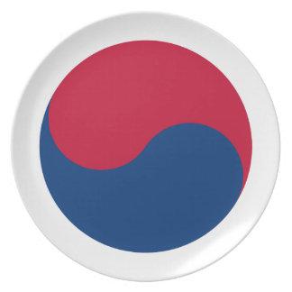 南朝鮮 プレート