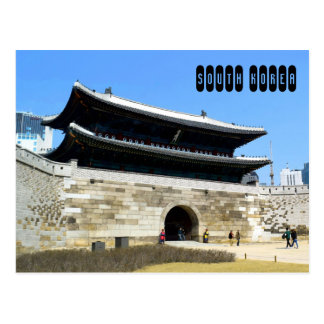 南朝鮮 ポストカード