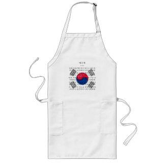 南朝鮮-애국가 ロングエプロン