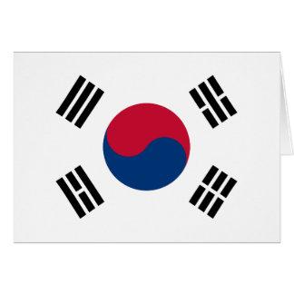 南朝鮮-태극기-の旗대한민국의국기 カード