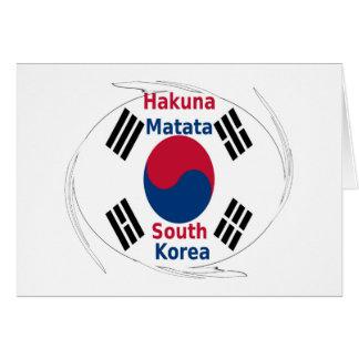 南朝鮮Hakuna Matata カード