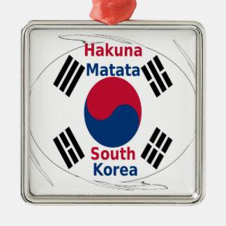南朝鮮Hakuna Matata メタルオーナメント