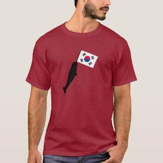 南朝鮮Narwhal Tシャツ