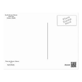 南木びきの氷河郵便はがき ポストカード