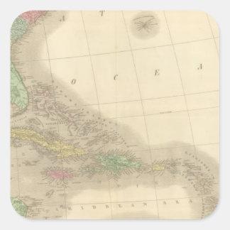 南東北アメリカ スクエアシール