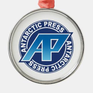南極出版物のロゴのオーナメント メタルオーナメント