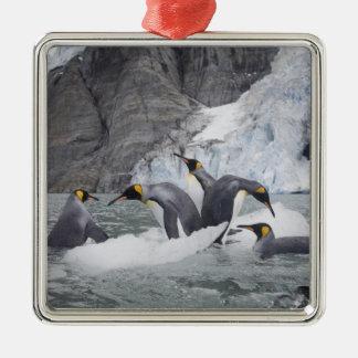 南極大陸のジョージアの南島(イギリス)、王14 メタルオーナメント