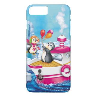 南極大陸のペンギン iPhone 8 PLUS/7 PLUSケース