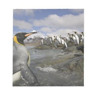 南極大陸の南極ジョージアの南島(イギリス) ノートパッド