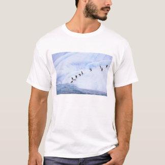 南極大陸の南極半島。 Chinstrap Tシャツ