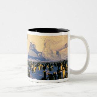 南極大陸の南極半島、Weddellの海、4 ツートーンマグカップ
