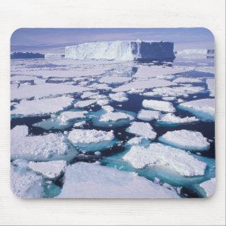 南極大陸の氷の流れ マウスパッド