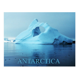 南極大陸の氷山 ポストカード