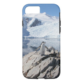 南極大陸のChinstrapのペンギン iPhone 8/7ケース