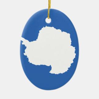 南極大陸 セラミックオーナメント