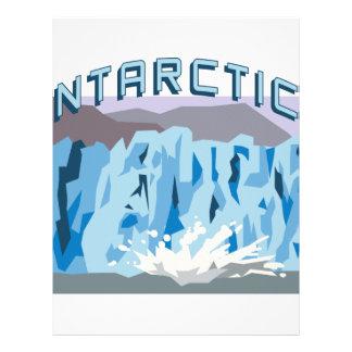 南極大陸 レターヘッド