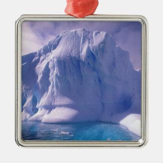南極大陸。 南極icescapes メタルオーナメント