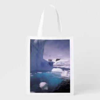 南極大陸。 南極icescapes 2 エコバッグ