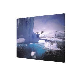南極大陸。 南極icescapes 2 キャンバスプリント