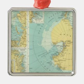 、南極大陸Artic メタルオーナメント