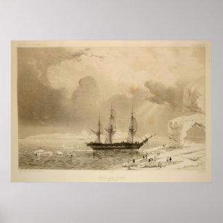 南極調査 ポスター