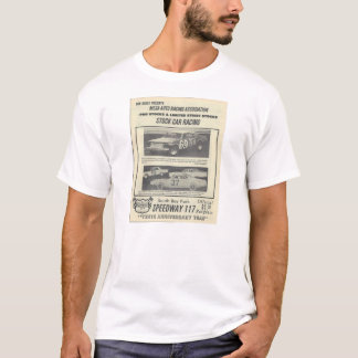 南湾公園の高速自動車道路117の競争プログラムTシャツ Tシャツ