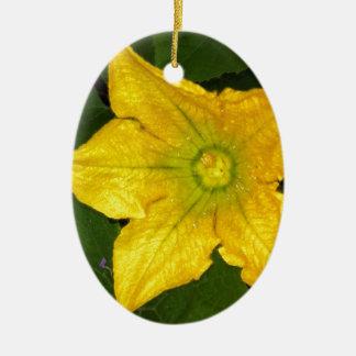 南瓜の花 セラミックオーナメント