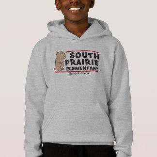 南草原の子供のロゴのフード付きスウェットシャツ