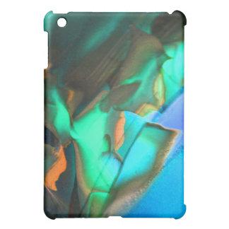 南西しゃれているなターコイズIPADの箱 iPad MINI CASE