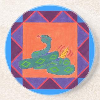 南西ガラガラヘビ コースター