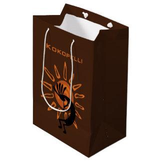 南西ココペリの砂漠の日曜日媒体のギフトバッグ ミディアムペーパーバッグ