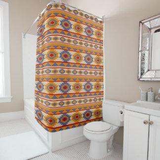南西ナバホー人の種族パターン シャワーカーテン
