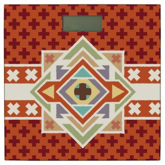 南西ネイティブアメリカン幾何学的なパターン 体重計