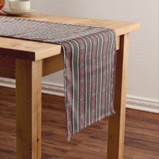 南西一時滞在の綿のテーブルのランナー ショートテーブルランナー