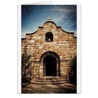 南西古い教会チャペルの宗教 カード
