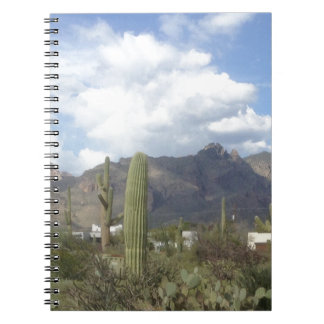 南西砂漠のふもとの小丘 ノートブック