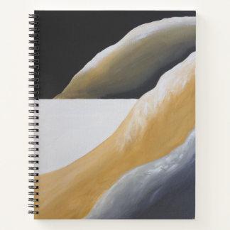 南西砂漠の抽象美術のノート ノートブック