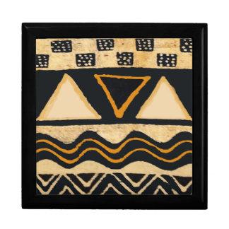 南西種族のネイティブアメリカンのデザイン ギフトボックス