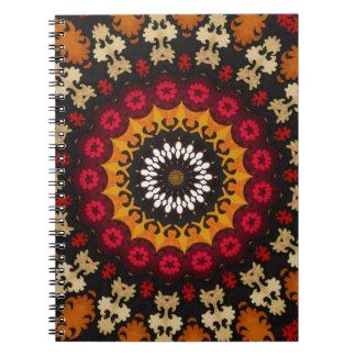 南西種族の幾何学的な西部のデザイン ノートブック