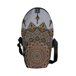 南西陶器の芸術の曼荼羅ゼロの小型バッグ クーリエバッグ