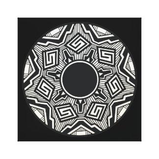 南西陶器パターン キャンバスプリント