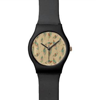 南西Geoのステップ|珊瑚の羽パターン 腕時計