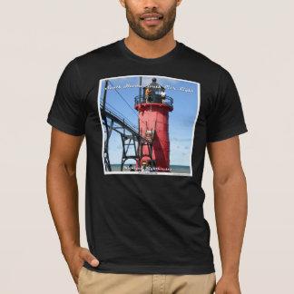南避難所南桟橋ライト Tシャツ
