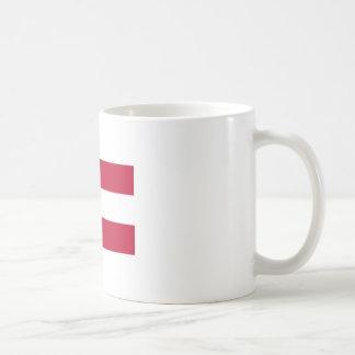 南部連合国旗のマグ コーヒーマグカップ