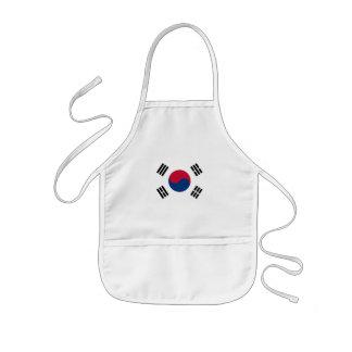 南韓国 子供用エプロン
