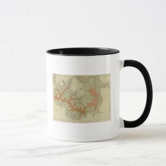南2の地質地図 マグカップ