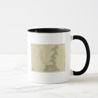 南3の地質地図 マグカップ