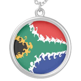 南|アフリカ|すごい|旗 オリジナルネックレス