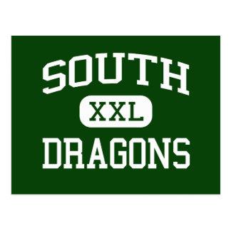 南-ドラゴン-後輩- Brocktonマサチューセッツ ポストカード